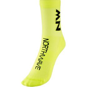 Northwave Extreme Air Mid Socks, geel/zwart